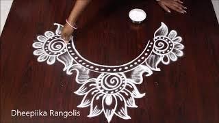 Download beautifull deepam muggulu design diwali special rangolis diya kolam designs Video