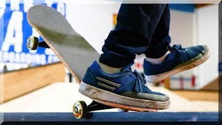 Download 1 FOOTED SKATE GAME GRINDS IRL! Video
