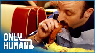 Download Beating the 2,000,000 Calorie Buffet (Eating Competition Documentary)| Only Human Video