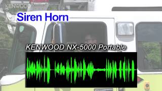 Download KENWOOD NX-5000 Portables Active Noise Cancelling Demonstration Video