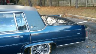 Download Cadillac Fleetwood on swangas Video