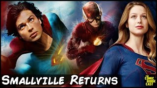 Download Smallville Returns to CW for Supergirl & Flash Multiverse Crossover Video