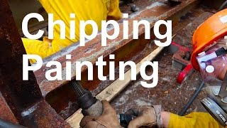 Download Chipping and Painting on Ships - How its done | Life at Sea on Container Ship Video
