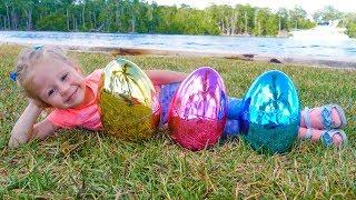 Download Песенки потешки для детей в пасхальных яйцах Video
