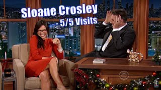Download Sloane Crosley - Attractive Smart Author In A Red Dress - 5/5 Appearances In Non-Chronological Order Video