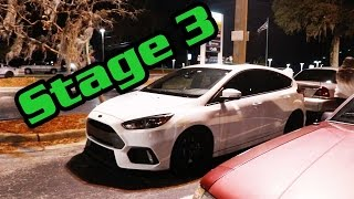 Download Stage 3 Focus RS + Meet, Races, Lauches, and Burnouts Video