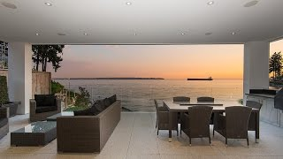 Download Luxury Waterfront Residence in West Vancouver, Canada Video