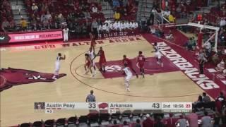 Download Arkansas vs. Austin Peay 12/3/2016 Video