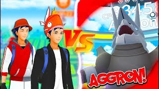 Download THEY DID THE IMPOSSIBLE! TWO Trainers VS AGGRON Raid in Pokémon Go! Video