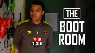 Download 'What were your first pair of boots?' Troy Deeney: The Boot Room Video