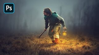 Download Photoshop Manipulation Tutorial - Adding Light Effects in Photoshop Video