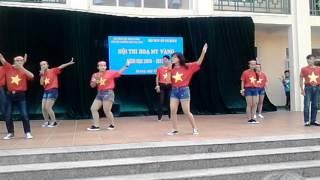 Download Nhảy dân vũ la la la world cup đẹp nhất. THCS Hạ Long Video