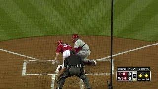 Download PHI@WSH: Harper steals home for first MLB stolen base Video