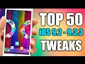 Download TOP 50 Cydia Tweaks Compatible With iOS 9.2 - 9.3.3 JAILBREAK Video