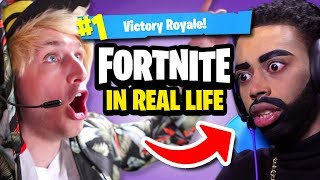 Download FORTNITE IN REAL LIFE Video