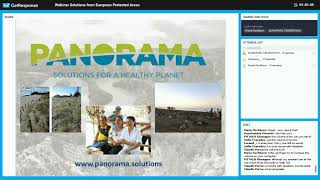 Download PANORAMA webinar: Solutions from European Protected Areas Video