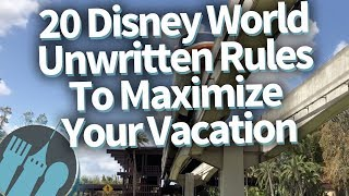 Download 20 Disney World Unwritten Secrets To Make Your Vacation EPIC! Video