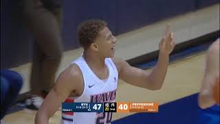 Download HIGHLIGHTS | Pepperdine Falls to BYU 87-76 at Home Video