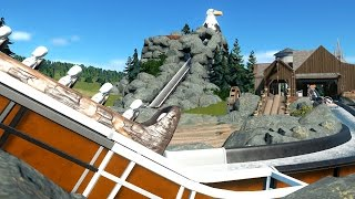 Download Eagle Point Log Flume | Planet Coaster Gameplay | Build Series Video