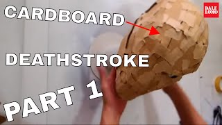 Download Make Deathstroke Mask Part 1 - Cardboard & Paper (free PDF) // Costume How to Video