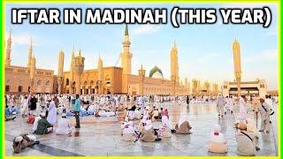 Download Iftar in Madinah Ramadan 2018: Masjid an-Nabawi Umrah Vlog 1439 رمضان المسجد النبوي Video