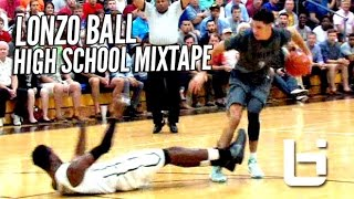 Download Lonzo Ball Is The #1 Point Guard In The Nation! OFFICIAL Mixtape! Video