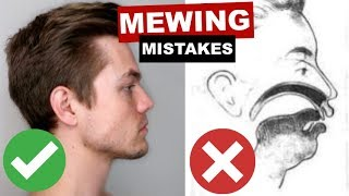Download MEWING MISTAKES | Why You're Not Seeing Jawline Improvements Video