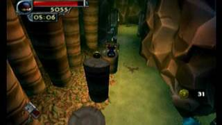 Download I-ninja PS2 Gameplay Beat the Clock - Sly Ninja.ASF Video