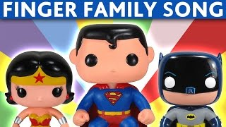 Download FINGER FAMILY NURSURY RHYMES Superman Batman Wonder Woman Robin Video