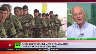 Download Erdogan vows to advance offensive in Syria to Manbij Video