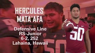 Download Cougar Football Hercules Mata'afa 2017 Highlights Video