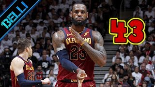 Download LeBron James ″COSI' NE HO VISTO SOLO UN ALTRO!″ 43 Punti G2 vs Raptors (Live🎙Flavio Tranquillo) Video