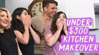 Download Under $300 Kitchen Makeover! | Mr. Kate Decorates on a Budget Video