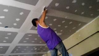 Download งานฉาบฝ้าเพดานด้วยปูนยเปเรส Video