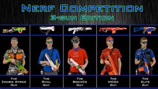 Download NERF WAR | THE COMPETITION | 3-GUN EDITION! Video