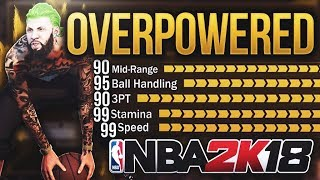 Download My ARCHETYPE Could BREAK the GAME | OVERPOWERED POINT GUARD BUILD - NBA 2K18 DEMIGOD CREATION Video