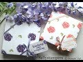 Download Hand Stamped Gift Box Video