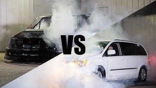 Download Gas Monkey Garage vs 1320Video BURNOUT CONTEST Video