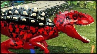Download LEGO Jurassic World - BLITZ-REX & Purple Mystery DINOSAURS! Video