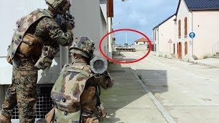 Download US Marines & French Soldiers Urban Close Combat Training in France Video