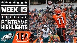 Download Eagles vs. Bengals | NFL Week 13 Game Highlights Video