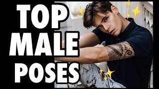 Download 7 BEST MODEL POSES FOR MEN! Pose like a Male Model! Video