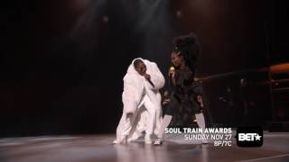 Download Brandy & Mase Perform ″Top Of The World″ At Soul Train Awards 2016 Video