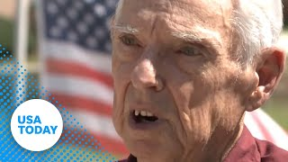 Download Veteran told he can't fly American flag in yard Video