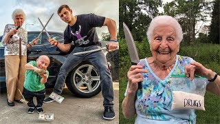 Download TRY NOT TO LAUGH Challenge - BEST Ross Smith Grandma Vines and Instagram Videos (Impossible) Video