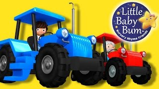 Download Tractor Song!   Nursery Rhymes   Original Song By LittleBabyBum! Video