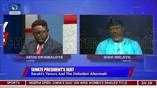 Download Bukola Saraki Will Be Senate President For Four Years, Melaye Insists Pt.2  Politics Today  Video