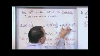 Download Identifying Linear Ordinary Differential Equations Video
