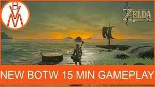 Download BEAUTIFUL SUNSET! | The Legend of Zelda Breath of the Wild New 15 Min GamePlay Video