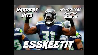 Download NFL/College Football Pump Up 2018-19 (Hardest Hits) - ″ESSKEETIT″ Video